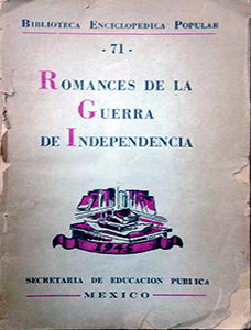 Romances de la Guerra de Independencia